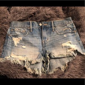 New distressed shorts for summer!
